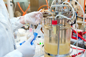 Manipulation on bioreactor in the laboratory